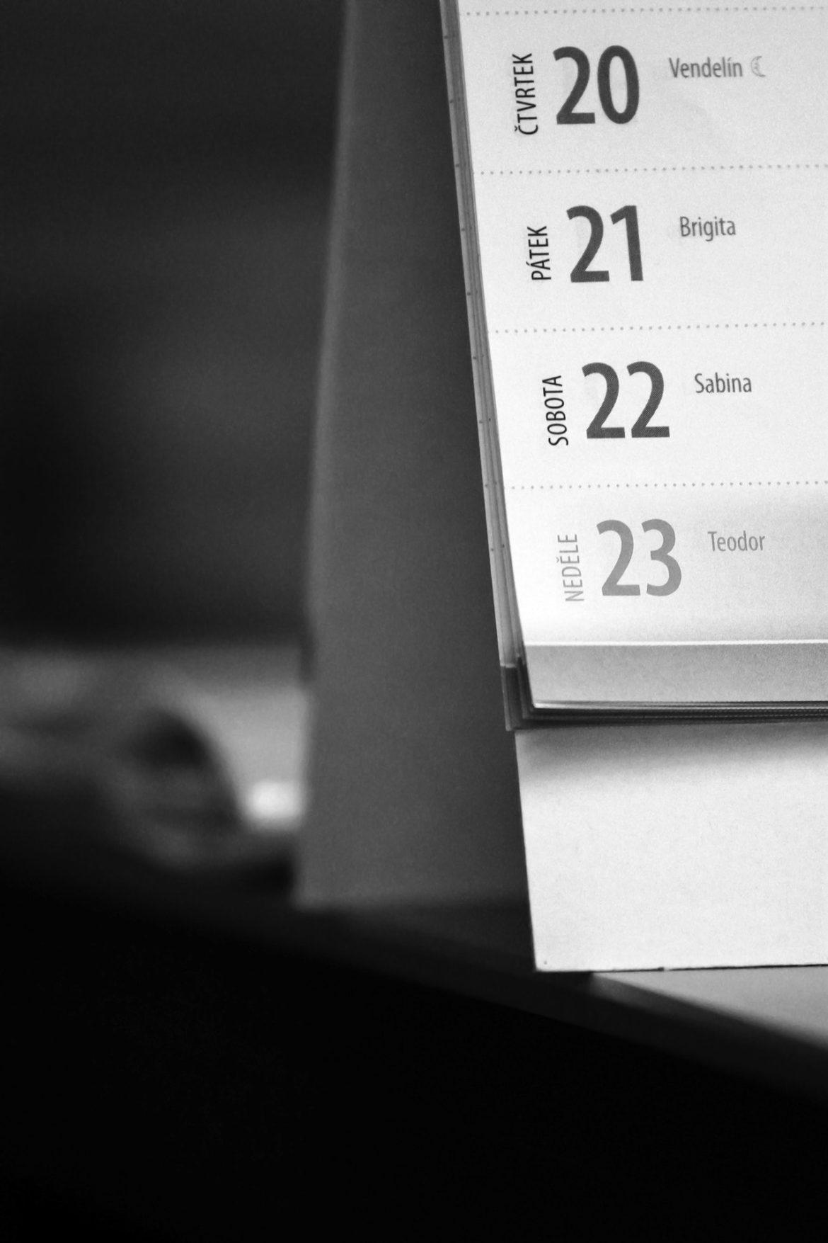 Dlaczego kochamy kalendarze trójdzielne?